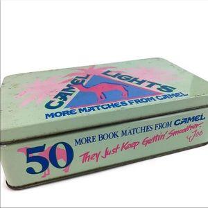 Vintage Camel Joe Tin Box